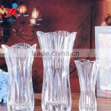 Crystal glass vase wholesale/creative transparent hydroponic/vase furnishing articles