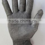 Stainless Steel Metal Mesh Butcher cut protected cooker operator working hand protection Glove