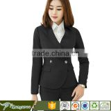 Corporate Workwear The Office Staff Uniform Women Fashion Blazer Dresses