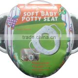 Full printing design Soft baby potty toliet seat factory