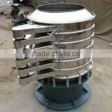 Mini circular vibrator sieve screen for detergent powder