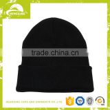 Wholesale winter blank embroidery custom pom pom hat