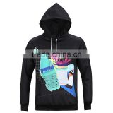 2017 Fashionable Design Printed Casual Hoodie for Men