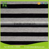 High quality organic cotton spandex strip textile fabrics