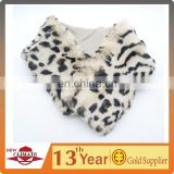 Fashion Leopard Faux Fur Scarf