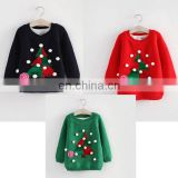 Hot selling 2016 Lovely thick making kids Christmas sweaters