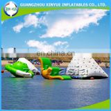 Cheap and funny Inflatable water floating playground, water park equipment game for sale