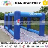 inflatable baseball Swing Inflatable Baseball pitch with nets football field goal kick Batting cage