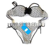 2015 OEM Bandeau bikini top and Brazilian cut bottom