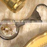 Golden Brown Art Deco Glass Bead Bottle Openers