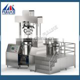 Stainless steel vacuum emulsifying machine high shear mixer heat press machine