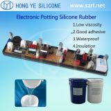 Addition cure electronic potting silicone rubber LED compounding silicon siliocn rubber for potting electronic product