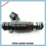 16600-AE060 / 16600-5L700 Vehicle Injector Nozzle For Infinitii M45/FX45/Q45/I35 16600AE060