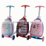 Light weight scooter suitcase kids school bag for sale