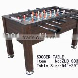 Coin-operated Soccer Table with cup holder