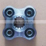 PRODUCED COUPLING AND COUPLING FLANGE