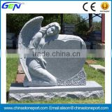 Angel Headstone Memorial Cemetery Monument                                                                         Quality Choice
