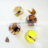 New design transparent plastic ball with real insects flowers embedded for promotion gifts