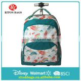 Wonderful Big Wheels Hot Selling Top Quality Lightweight Trolley Backpack Bag Hard Case Kids Trolley Bags for Students