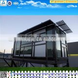 modern steel villa/ carport prefab home/prefabricated home