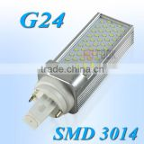 G24 SMD 3014 6W PLC LED Corn Light 55 LEDs