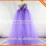 crochet baby girl party wear dress evening tutu girls princess kid knit dress fashion and hot party flower dress