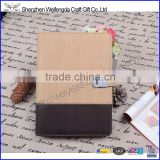 Multi-color leather diary with usb stick,ring binder notebook power bank                                                                         Quality Choice
