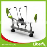 Track Series127 China outdoor fitness equipment double rowing machine for adult LE.SC.029