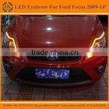 High Quality New Arrival LED DRL Strip for Ford Focus LED Eyebrow for Ford Focus Daytime Running light 2009-2013