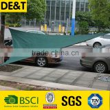Long lifetime sail canopy, car park square sun shade sail, long working life fruit shade net