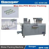 DPP-100 Mini Alu-PVC blister Packing Machine