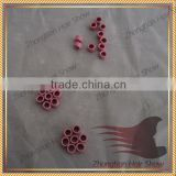 Micro Nano Rings/Links/Beads For Nano Rings Hair Extensions Tool pink micro ring human hair extension