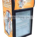 hot sale SC40B Liter advertising display cooler mini commercial fridge