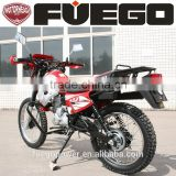 CE Approved Air Cooled Motorcycle 250cc CG200 CB200 5 International Gears Transmissions Cargo Rack Dirt Bikes