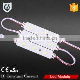 Warm white CE ROHS waterproof 3 ponits led module lighting flashing led module for light box