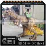 coin operated mechanical dinosaur ride animatronic T-rex rides with motions lifelike dinosaur rides