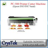 car sticker printing machine printing and cut vinyl machine plotter printing and cutting machine