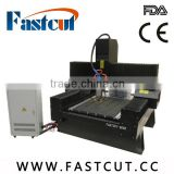 China Shandong Jinan stone marble granite 12 16 20 25 Circular Rail cnc engraving cutting machine