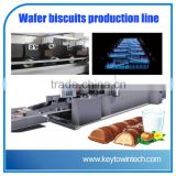 Wafer biscuits production line