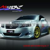 PU body kits for LEXUS-09-IS300-Style T