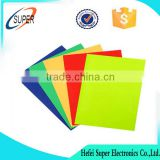 A4 blank double sided adhesive thin pvc laminated soft big whiteboard roll magnetic Flexible rubber sheet