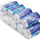 Stackable Clear Plastic Refrigerator Soda Beer Can Bin Holder fridge Organizer