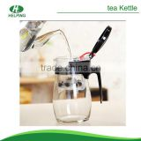 Heat resistant Glass Tea Coffee Pots Kettles Set Infuser