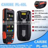 CARIBE PL-40L Ac030 portable data terminal handheld pda Support wifi/3G/GPRS /Barcode Scanning/BlueTooth/RFID read