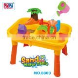 Hot Selling Kids Learning Summer Sand & Water Table Kids Sandbox With Bucket & Shovel,rake