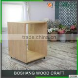 Chinese Shelves Display Rack Storage Cabinet with Wheels Living Room Furniture