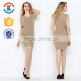 New style one piece women silk dress for sex simple