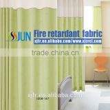 2015 factory direct sale High-grade beautiful Permanent Flame retardant fabric Medical partition curtain