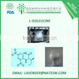 Best L-Isoleucine food grade, amino acid/ Isoleucine in stock CAS No.: 73-32-5