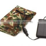 Portable Solar Panel Battery Charger 5V 8W External Solar Power Bank Outdoor Emergency Charger for Iphone Samsung Galaxy S3